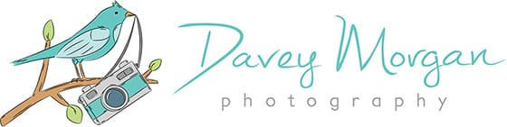 Davey Morgan Photography logo, Greenville, SC Wedding and Family Photographer